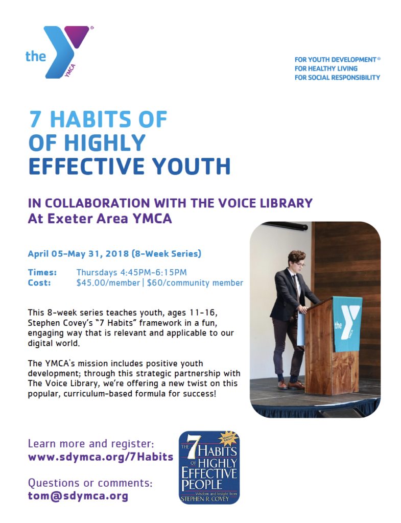 TVL&YMCA-7 Habits of Highly Effective Youth